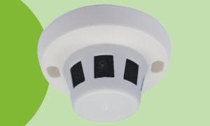 Telecamera nascosta in sensore fumo
