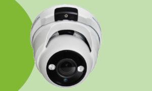Telecamera dome IP Ottica 2.8 – 12 mm motorizzata 4 Megapixel