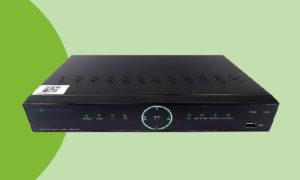 Videoregistratore di rete 4 canali, 4 porte POE